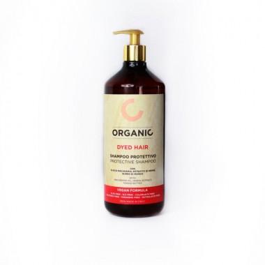 Органический шампунь для окрашенных волос «Восстановление и Защита» Punti di Vista Vegan Formula Organic Protective Shampoo, 1000 мл