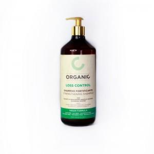Органічний шампунь від випадіння волосся, зміцнює Punti di Vista Organic Strengthening Shampoo Vegan Formula, 1000 мл