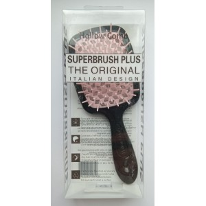 Hollow Comb Superbrush Plus hairbrush (black tea rose)