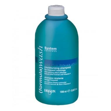 Увлажняющий шампунь для частого мытья головы Dikson Wash Moisturizing Shampoo, 1000 мл