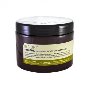 Маска зволожуюча для всіх типів волосся Insight Anti-Frizz Hydrating Mask, 500 мл (8029352353505)