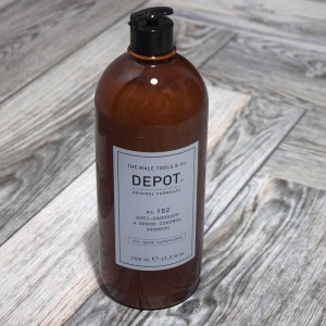 Depot 102 Hair Cleansings Anti-Dandruff & Sebum Control Shampoo, 1000 ml