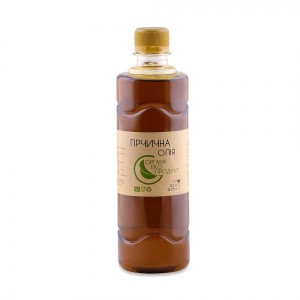Mustard oil cold pressed Organic Eco-Product, 1000 ml