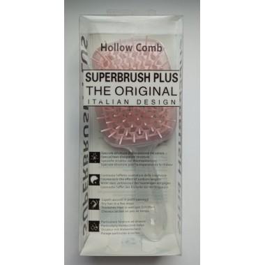 Гребінець для волосся Hollow Comb Superbrush Plus (невидимий персик)