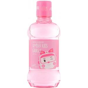 Детское полоскание для полости рта с ароматом персика Daeng Gi Meo RI Poli Kids Gargle Peach, 260 мл