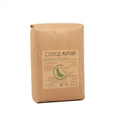 Rye malt fermented Organic Eco-Product, 1 kg