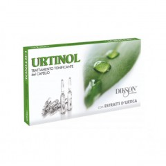 Ампульное средство против жирности кожи головы и себореи Dikson Urtinol, 10*10 мл