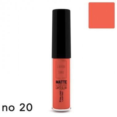 Матова рідка помада Lavish Care Matte Liquid Lipcolor - Xtra Long Lasting №20, 6 мл