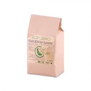 Цільнозернове борошно пшеничне натуральне Organic Eco-Product, 500 г