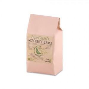 Борошно з пророщеної пшениці натуральне Organic Eco-Product, 500 г