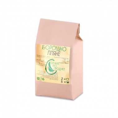 Natural linseed flour Organic Eco-Product, 5 kg
