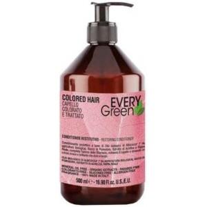 Кондиціонер для фарбованого і обробленого волосся з маслом абрикоса, томатним соком Dikson EG Colored Conditioner,  500 мл