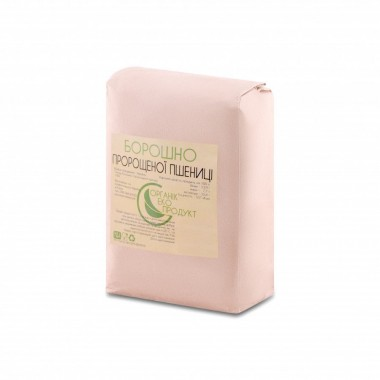 Борошно з пророщеної пшениці натуральне Organic Eco-Product, 5 кг