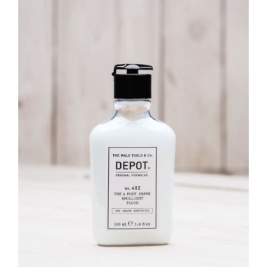 Pre & Post Shave Emollient Fluid Depot 402, 100 ml