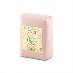 Natural chickpea flour Organic Eco-Product, 1 kg