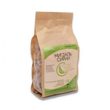 Raw almonds Organic Eco-Product, 350 g