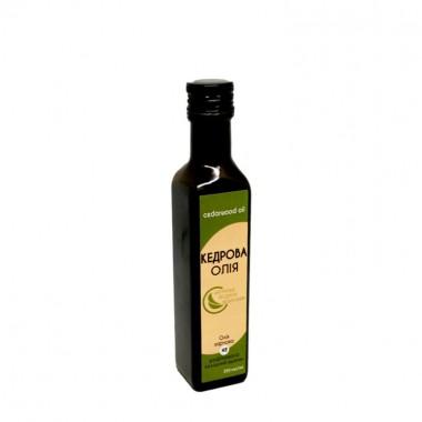 Олія кедрова холодного віджиму Organic Eco-Product (скло), 250 мл