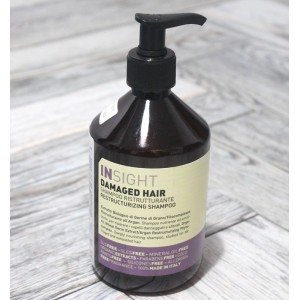 Восстанавливающий шампунь Insight (Италия) Damaged Hair Shampoo, 400 мл