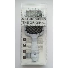 Hollow Comb Superbrush Plus hairbrush (white night)