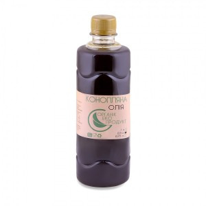 Hemp oil cold pressed Organic Eco-Product, 500 ml