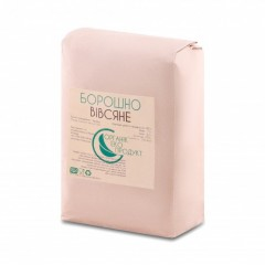 Борошно вівсяне натуральне Organic Eco-Product, 2 кг