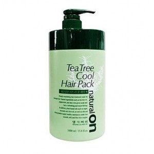 Daeng Gi Meo Ri Naturalon Tea Tree Cool Hair Pack, 1000 ml