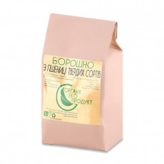 Борошно з пшениці твердих сортів натуральне Organic Eco-Product, 2 кг