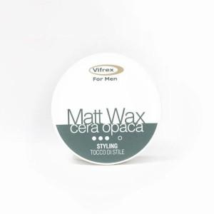 Воск матовый сильной фиксации для мужчин Vifrex for men MATT WAX, 100 мл