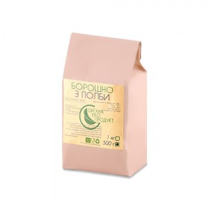 Spelled flour natural Organic Eco-Product, 500 g