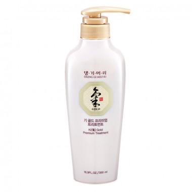 Зволожуючий кондиціонер для всіх типів волосся DAENG GI MEO RI (Корея) KI GOLD Premium Treatment, 300 мл