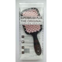 Гребінець для волосся Hollow Comb Superbrush Plus (чорна чайна троянда)