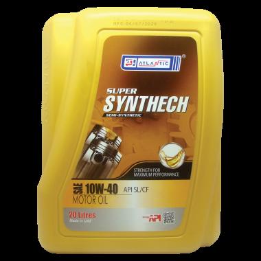 Моторное масло ATLANTIC SYNTHECH 10W-40 API SM/CF, 20 л