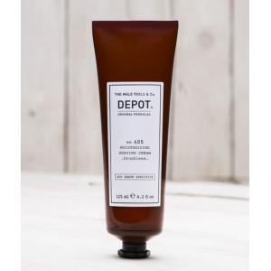 Moisturizing shaving cream Depot 405, 125 ml