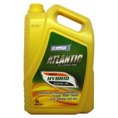 Моторное масло ATLANTIC GREEN-HYBRID 0W-20, 5 л