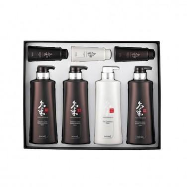 Універсальний набір для догляду за волоссям (7 одиниць) DAENG GI MEO RI (Корея) Ki Gold Hair Care Set, 2210 мл
