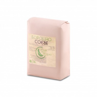 Natural soy flour Organic Eco-Product, 2 kg